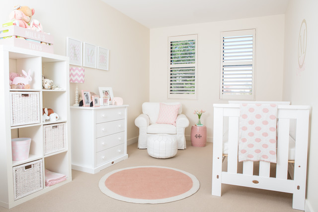 Baby Girl Nursery - Contemporary - Kids - Melbourne - by Mymillamoo