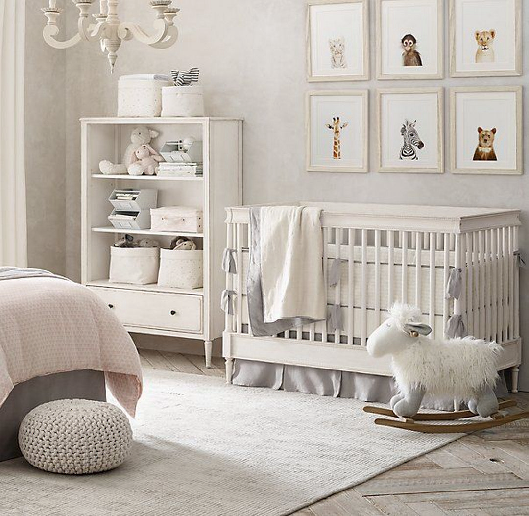 Baby Girl Nursery Decor Inspiration | KatieCassman.com