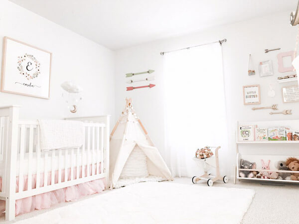 Two main points to consider in   your baby girl room designs