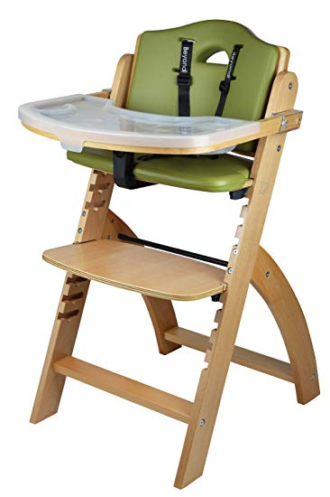 Amazon.com : Abiie Beyond Wooden High Chair With Tray. The Perfect