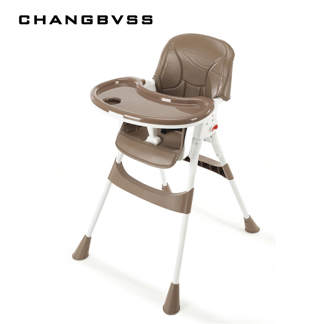 Children's dining table and baby dining chair portable foldable