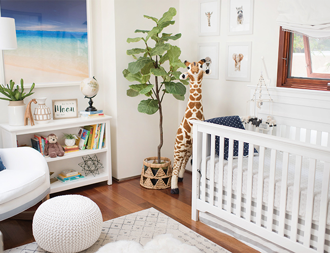 Grey & Blue Baby Boy Nursery - Inspired By This