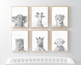 Neutral nursery | Etsy