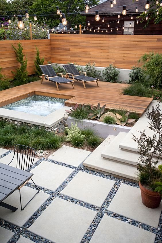 30 Beautiful Backyard Landscaping Design Ideas | Gardening (GROUP