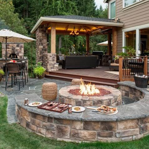 30 Patio Design Ideas for Your Backyard | Deck/Porch/Sunroom