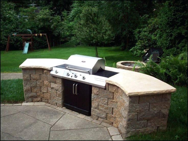 Stock Photo Custom Stone Backyard Grill And Bar Bbq Grills u2013 Best