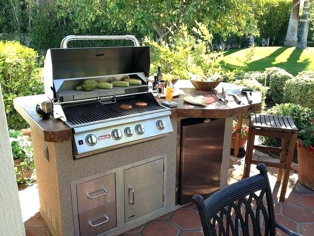 Backyard Grill Bbq Backyard Grill Outdoor Kitchen The Grills Plans