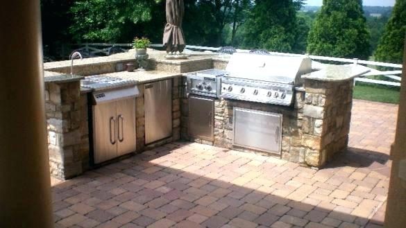 Gas Patio Grill Built In Patio Grill Backyard Grills Absolutely