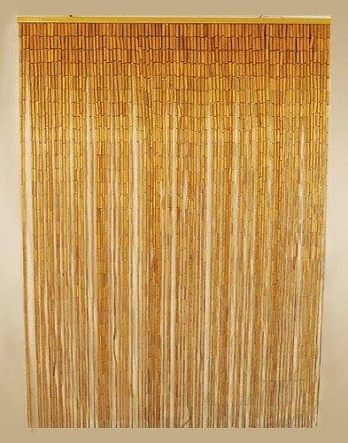 How to clean bamboo curtains?