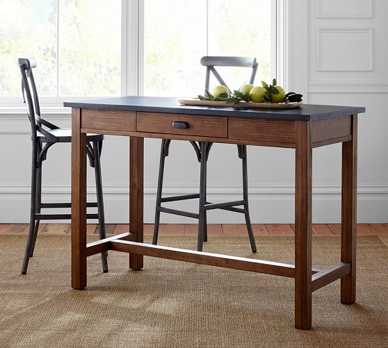 Channing Bar-Height Table | Pottery Barn