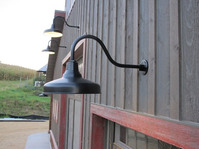 Review Gooseneck Barn Light u2014 Dwelling Exterior Design : Gooseneck