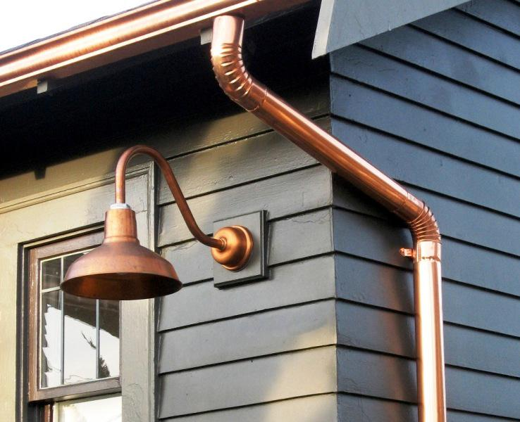 Bronze Gooseneck Barn Lights u2014 Dwelling Exterior Design : How to