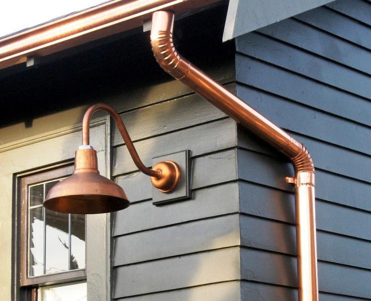 Bronze Gooseneck Barn Lights u2014 Dwelling Exterior Design : How to