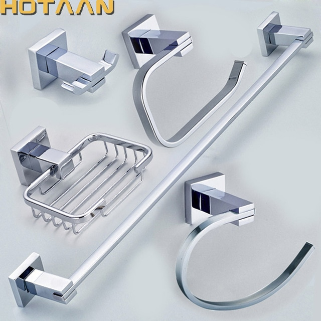 Free shipping,304# Stainless Steel Bathroom Accessories Set,Robe
