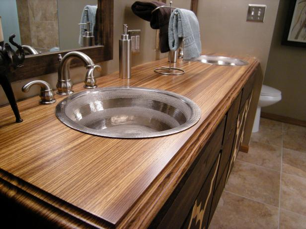 Bathroom Countertop Material Options | HGTV