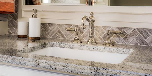 Bathroom Granite Countertop Installation in Northern Minnesota