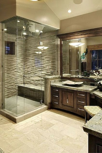 Master Bathroom Design Ideas | Master Bathroom Ideas | Pinterest