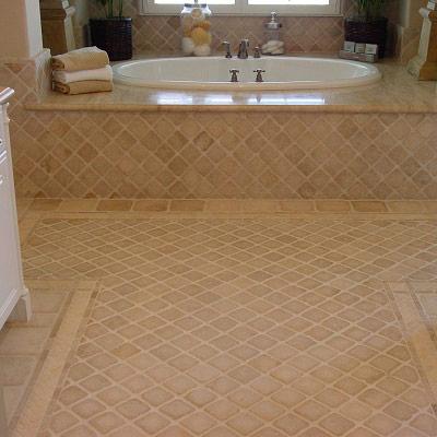 Bathroom Floor Tiles - Bathroom Flooring Ideas | www.westsidetile.com