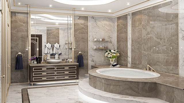 Bespoke Bathroom Design in Dubai by Luxury Antonovich Design