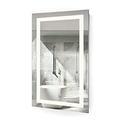 Amazon.com: Krugg LED Bathroom Mirror 18 Inch X 30 Inch | Lighted