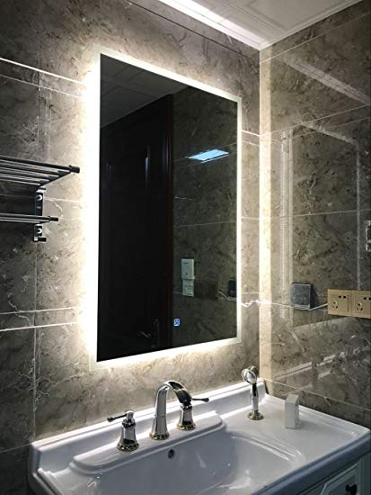 Amazon.com: DIYHD W32 xH24 Box Diffusers Led Backlit Bathroom Mirror
