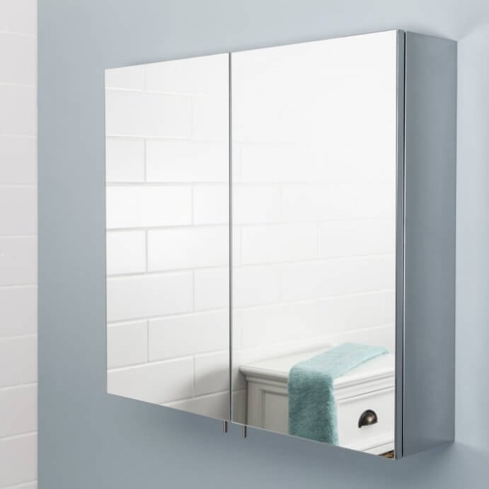 Mirror Bathroom Cabinets - Plumbworld