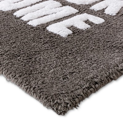 Tufted So Fresh Bath Rugs And Mats Pigeon Gray - Room Essentials