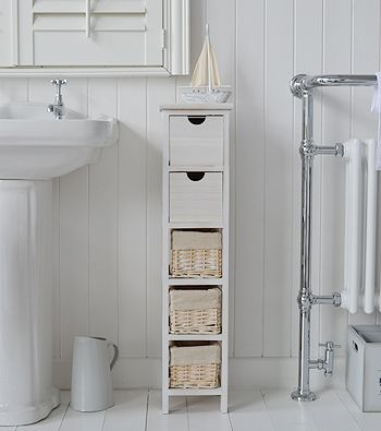 Tall slim narrow 20cm bathroom storage | Home Ideas | インテリア