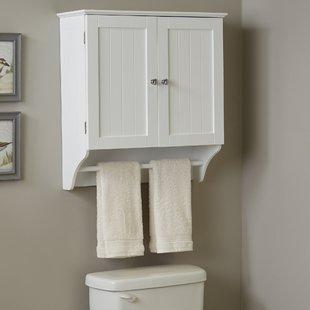 White Wall Cabinet Bathroom   Wayfair