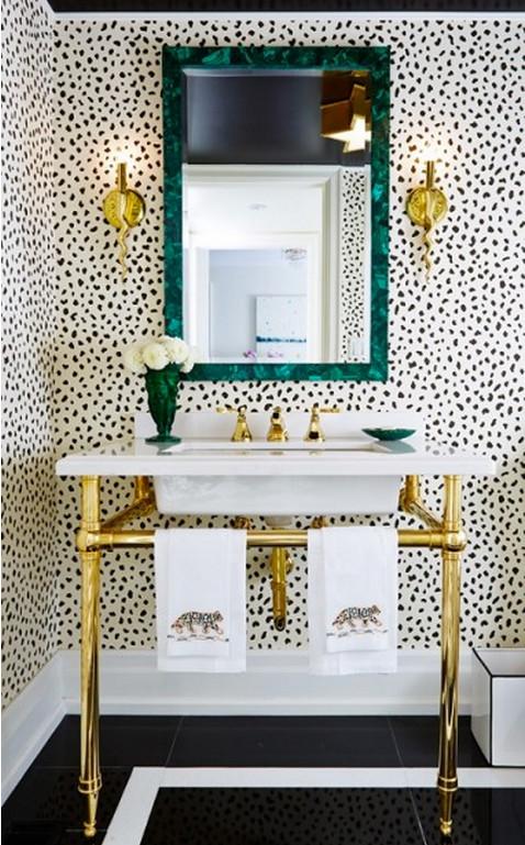 Bathroom Wallpaper Classics - Atticmag