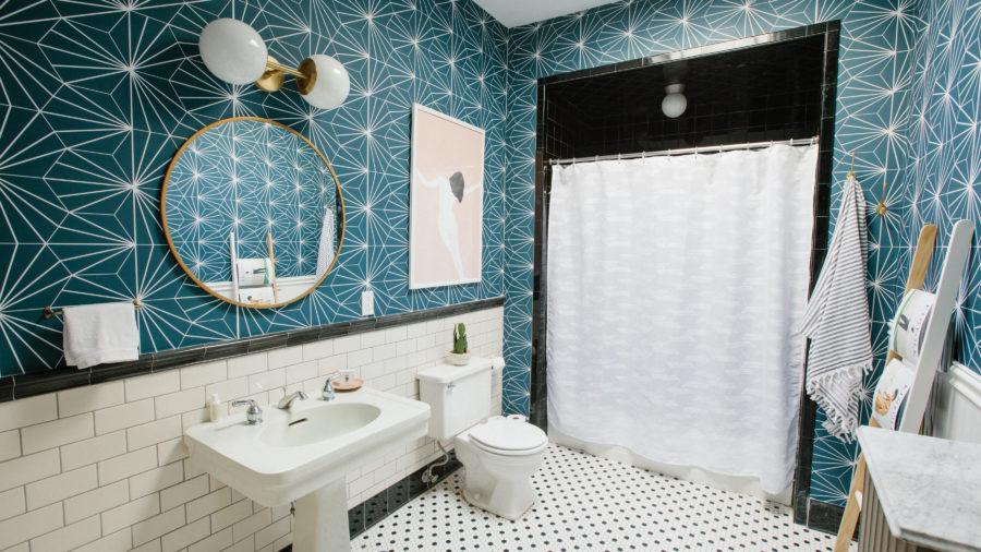 Bathroom Wallpaper Ideas - Sunset Magazine