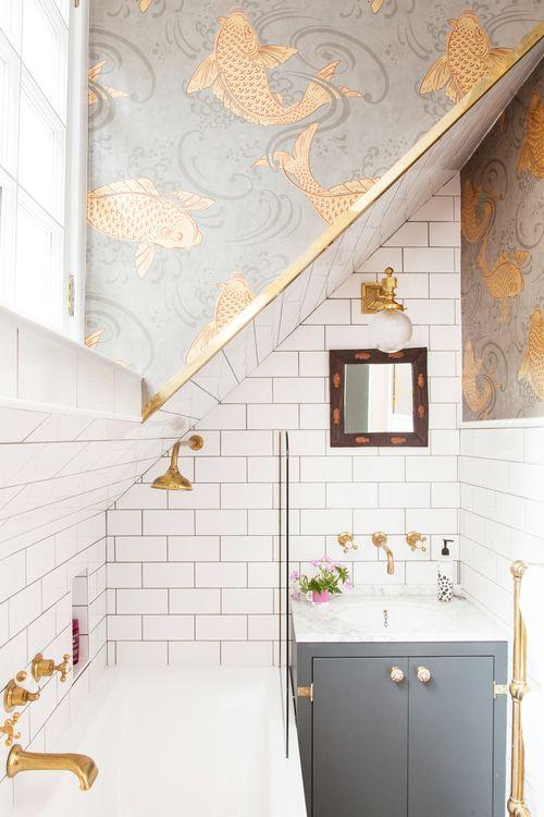 Bathroom Before & After | Nest | Pinterest | Bathroom before after