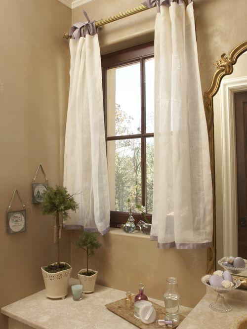 White Small Bathroom Window Curtains : Maxwells Tacoma Blog - Making