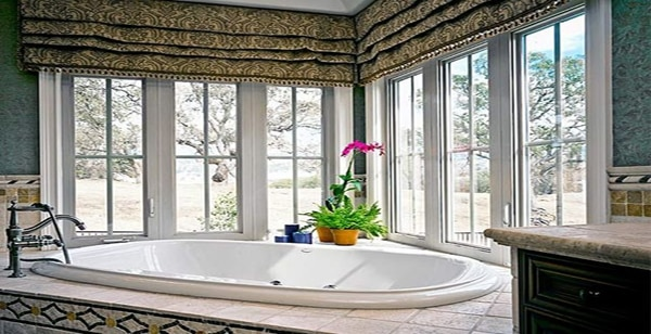 7 Bathroom Window Treatment Ideas for Bathrooms | Blindsgalore