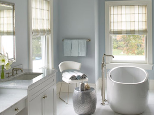 Ideas for Bathroom Window Treatments - Lanera Decorating