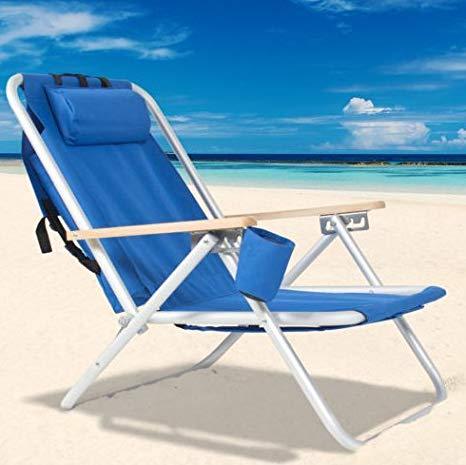 Amazon.com : Beach Chair-Backpack Beach Chair Folding Portable Chair