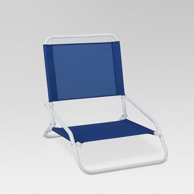 Outdoor Portable Beach Chair - Blue - Evergreen : Target