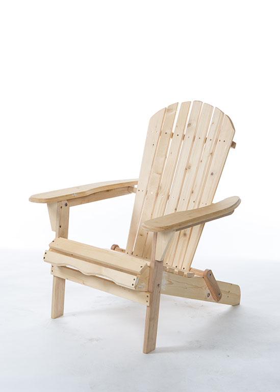 Hampton Wooden Beach Chair   Stuart Event Rentals