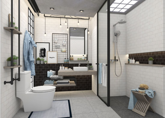 COTTO | Beautiful Bathroom