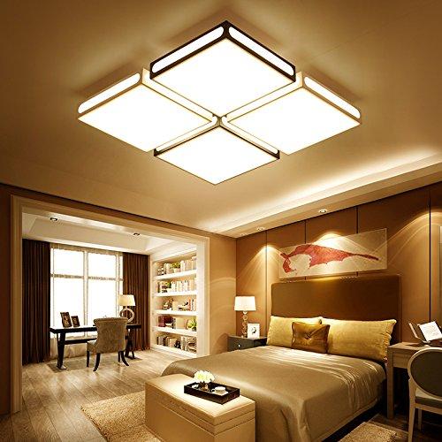 TIANLIANG04 Ceiling Lights Living Room, LED Light, Rectangular