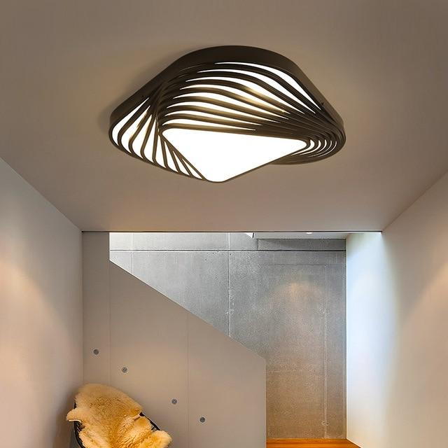 New Design modern ceiling light DIY triangle led bedroom ceiling