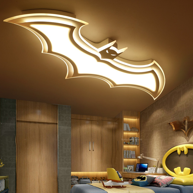 The bedroom ceiling lights   create illusions