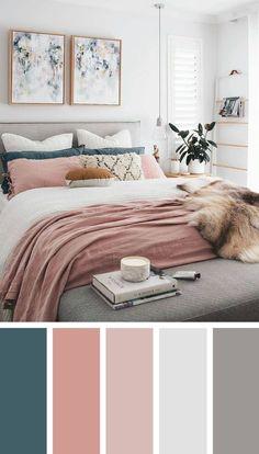 399 Best Bedroom Colour Schemes images | Paint colors, R color