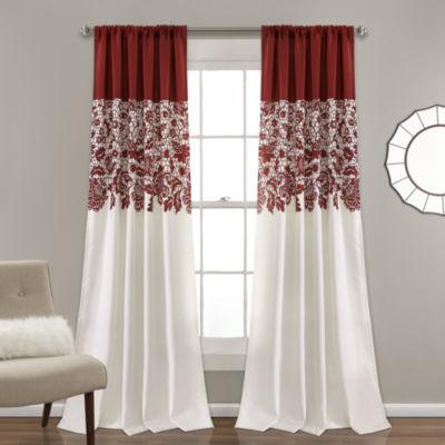 Lush Decor Curtain Panels Bedroom Curtains & Decor for Bed & Bath