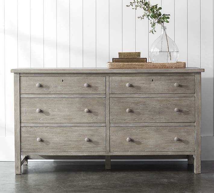 Farmhouse Extra Wide Dresser | Pottery Barn