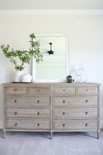 our bedroom dresser | Foxwood Cove | Bedroom dressers, Bedroom decor