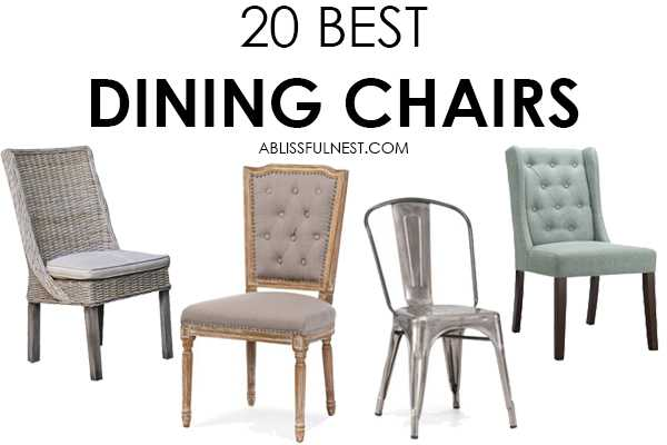 Dining Chairs - The Best Roundup For Your Dining Room