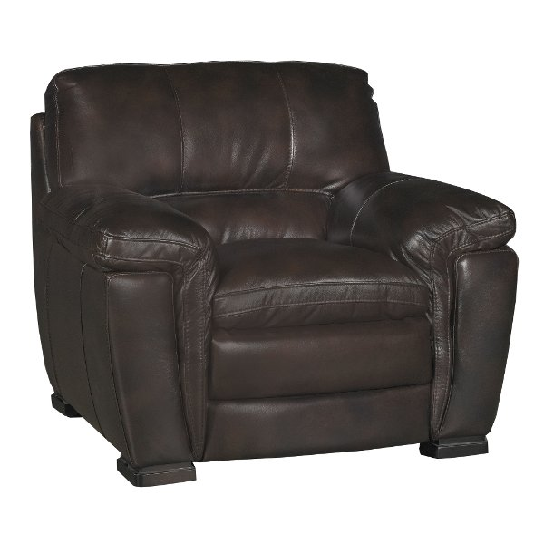 Browse leather chairs in black, white, brown and more | RC Willey