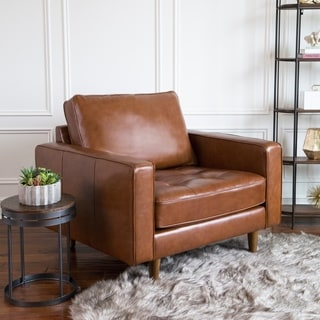 Buy Leather Living Room Chairs Online at Overstock   Our Best Living