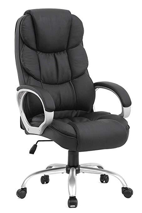 Amazon.com: BestOffice Office Chair Desk Ergonomic Swivel Executive